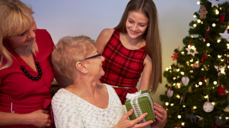 Holiday gifts for seniors